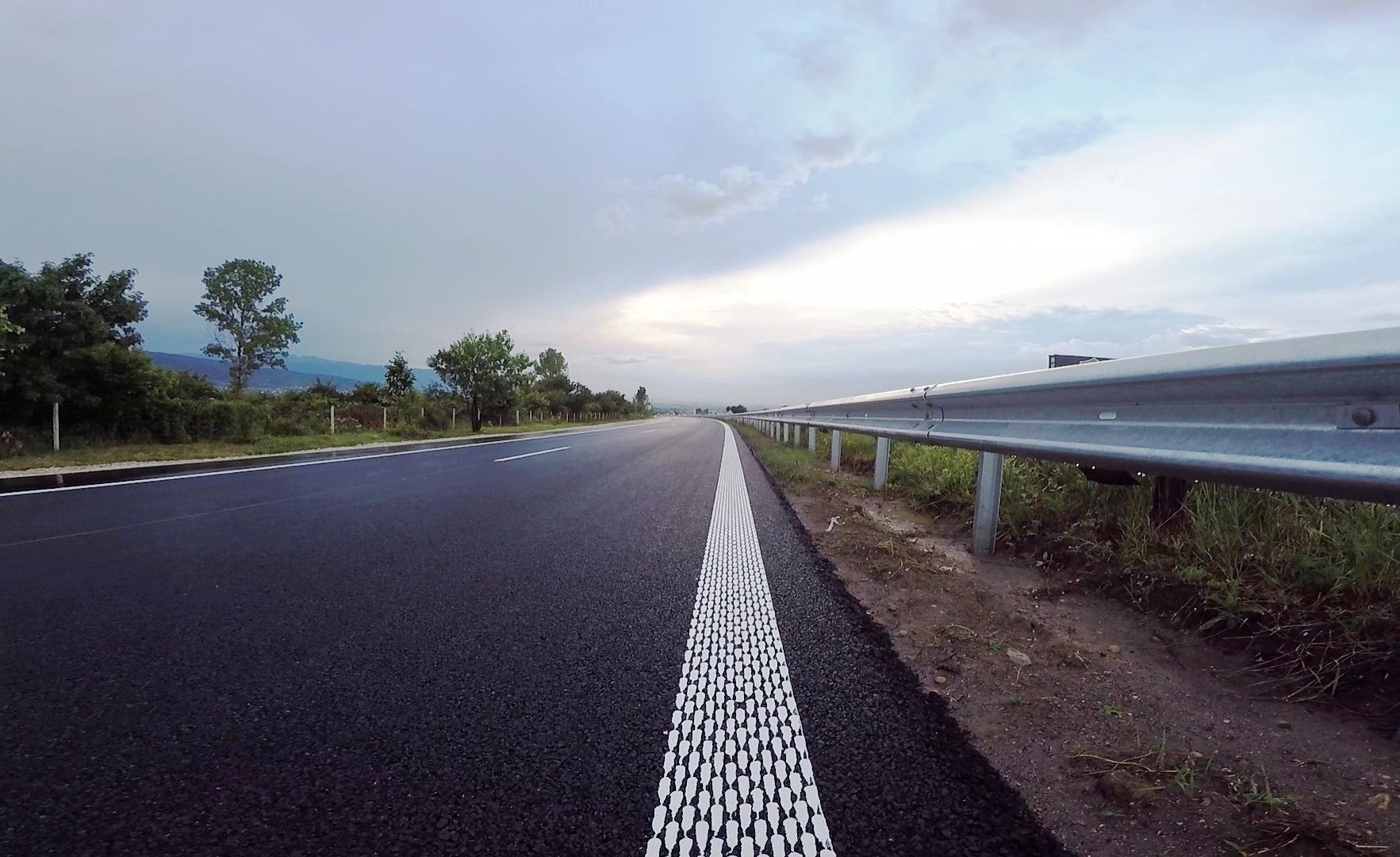 """Пътуващите вече могат да шофират в двете посоки по изцяло ремонтираните участъци на АМ """"Тракия"""""""