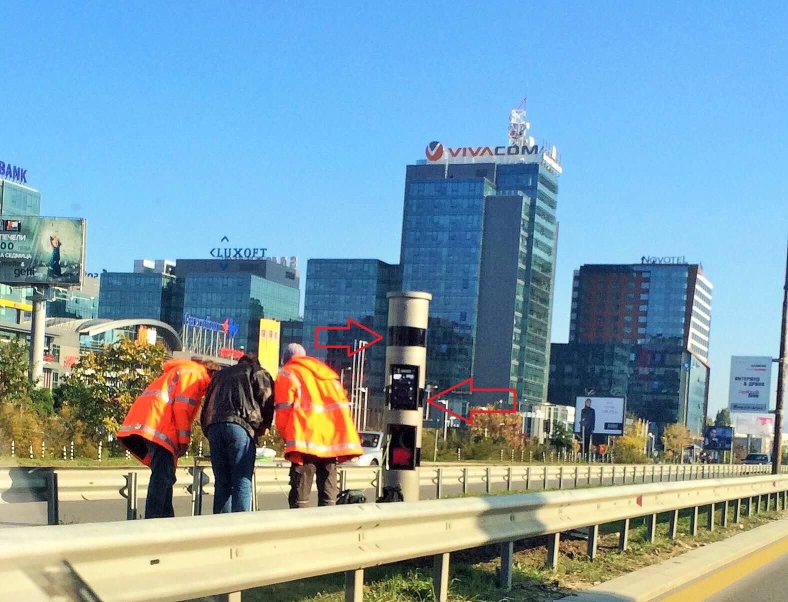 Нова модерна камера на бул. Цариградско шосе